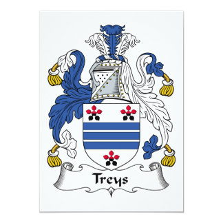 Escudo de la familia de Treys Anuncios