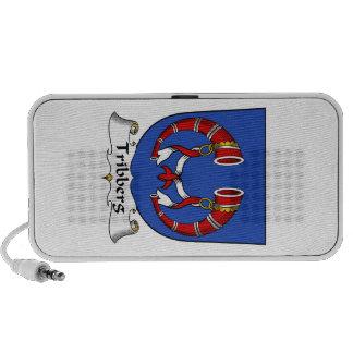 Escudo de la familia de Tribberg iPhone Altavoz