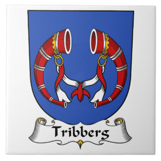 Escudo de la familia de Tribberg Teja Cerámica