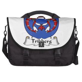 Escudo de la familia de Tribberg Bolsas De Portátil