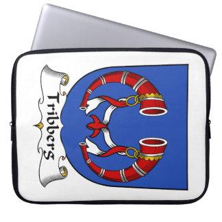 Escudo de la familia de Tribberg Mangas Portátiles