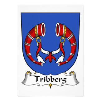 Escudo de la familia de Tribberg Invitación Personalizada