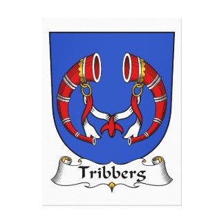 Escudo de la familia de Tribberg Impresiones En Lona Estiradas