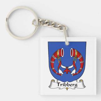 Escudo de la familia de Tribberg Llaveros