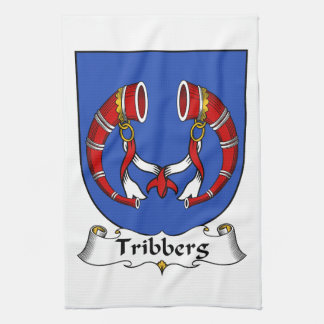 Escudo de la familia de Tribberg Toalla De Mano