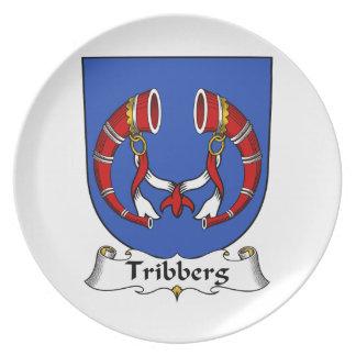 Escudo de la familia de Tribberg Plato