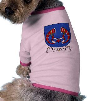 Escudo de la familia de Tribberg Ropa De Perros