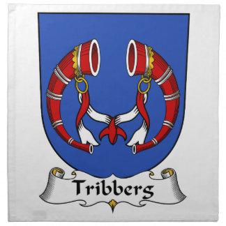 Escudo de la familia de Tribberg Servilleta De Papel