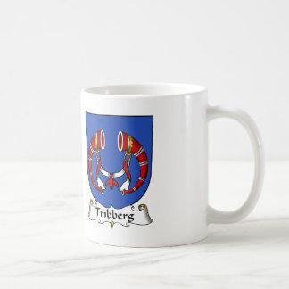 Escudo de la familia de Tribberg Tazas