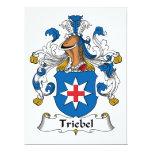 Escudo de la familia de Triebel Anuncios Personalizados