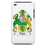 Escudo de la familia de Triggs Barely There iPod Protectores