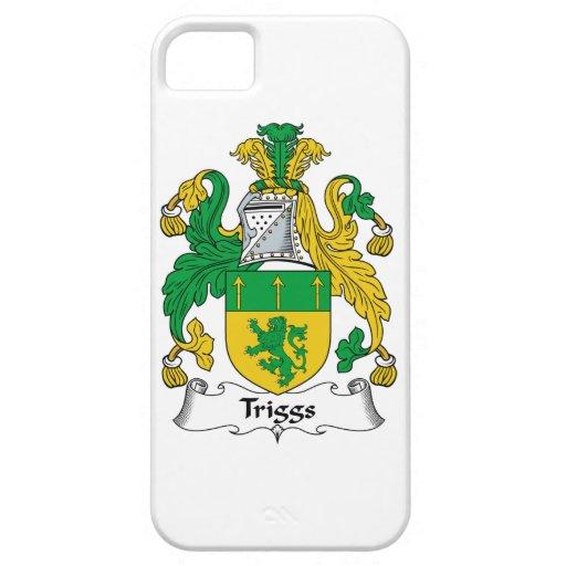 Escudo de la familia de Triggs iPhone 5 Cárcasa