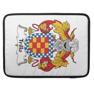 Escudo de la familia de Trillo Funda Macbook Pro