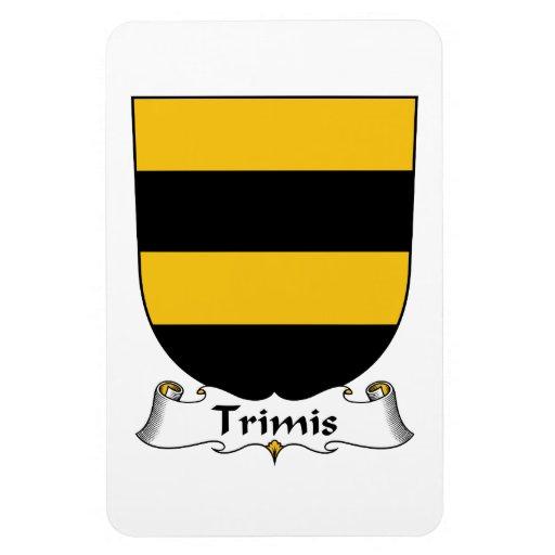 Escudo de la familia de Trimis Iman Rectangular