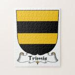 Escudo de la familia de Trimis Puzzle Con Fotos