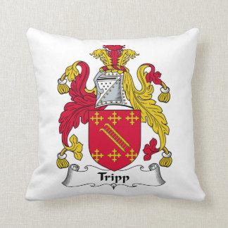 Escudo de la familia de Tripp Almohadas
