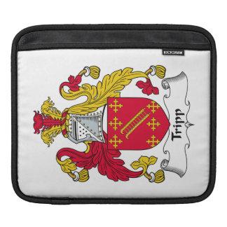 Escudo de la familia de Tripp Funda Para iPads