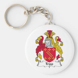 Escudo de la familia de Tripp Llavero