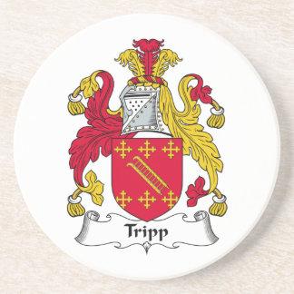 Escudo de la familia de Tripp Posavasos Manualidades