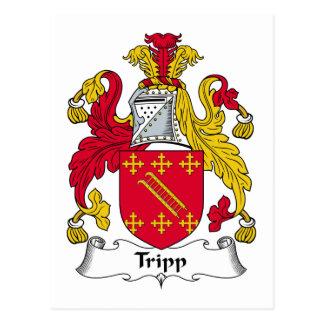 Escudo de la familia de Tripp Postales