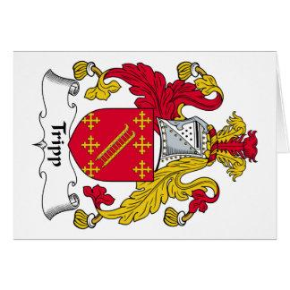 Escudo de la familia de Tripp Tarjetas