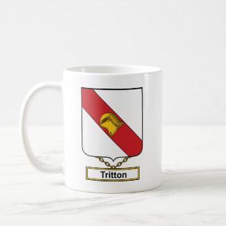 Escudo de la familia de Tritton Taza Clásica