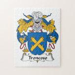 Escudo de la familia de Troncoso Rompecabeza