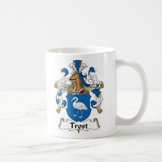 Escudo de la familia de Trost Tazas
