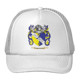 Escudo de la familia de Troste (escudo de armas) Gorras De Camionero