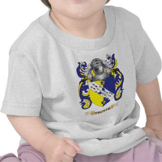 Escudo de la familia de Troste (escudo de armas) Camisetas