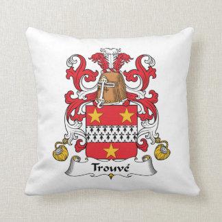 Escudo de la familia de Trouve Cojín