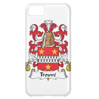 Escudo de la familia de Trouve Funda Para iPhone 5C