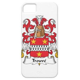 Escudo de la familia de Trouve iPhone 5 Funda
