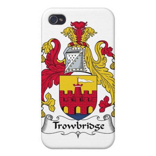 Escudo de la familia de Trowbridge iPhone 4 Funda
