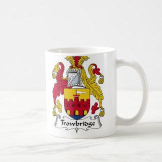 Escudo de la familia de Trowbridge Taza De Café