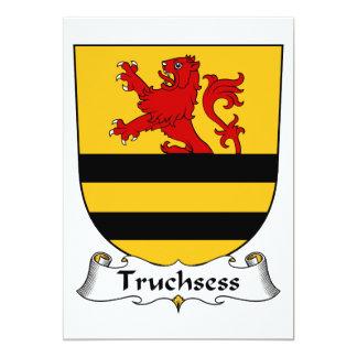 """Escudo de la familia de Truchsess Invitación 5"""" X 7"""""""