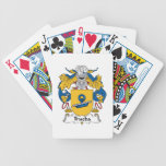 Escudo de la familia de Trueba Baraja Cartas De Poker