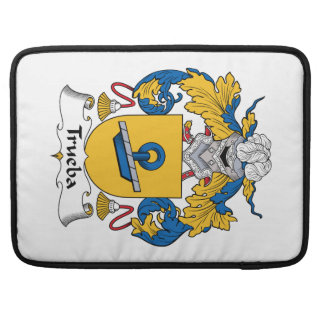 Escudo de la familia de Trueba Funda Para Macbooks