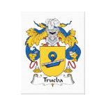 Escudo de la familia de Trueba Impresion En Lona