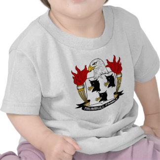 Escudo de la familia de Trumbull Camisetas