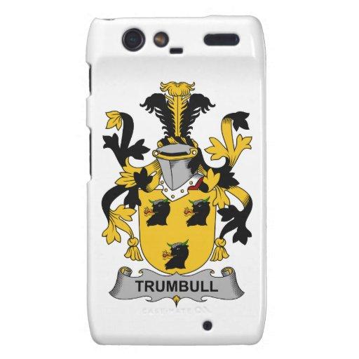 Escudo de la familia de Trumbull Droid RAZR Fundas