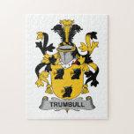 Escudo de la familia de Trumbull Rompecabezas