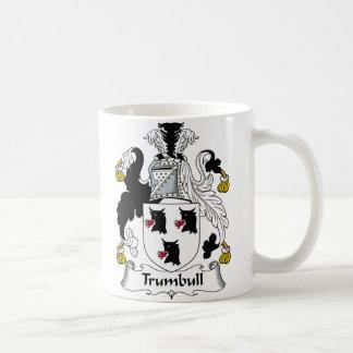 Escudo de la familia de Trumbull Taza