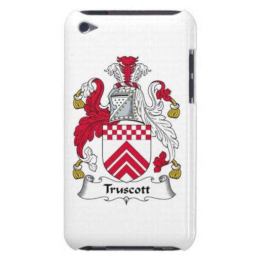 Escudo de la familia de Truscott iPod Touch Carcasas
