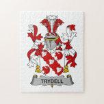 Escudo de la familia de Trydell Rompecabezas