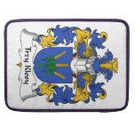 Escudo de la familia de Trzy Klosy Funda Macbook Pro