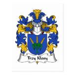 Escudo de la familia de Trzy Klosy Postal