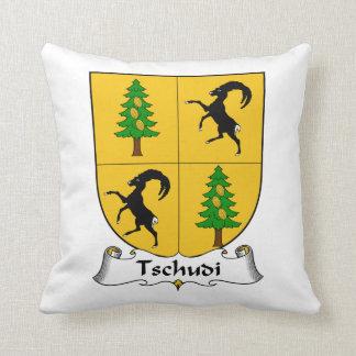 Escudo de la familia de Tschudi Cojín
