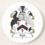 Escudo de la familia de Tubb Posavaso Para Bebida
