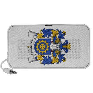 Escudo de la familia de Tuczynski Altavoces De Viaje